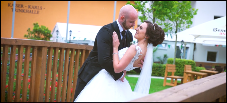 Hochzeitsvideograf Hochzeit feiern Kameramann Paderborn Lippspringe Standesamt Salzkotten Elsen Hövelhof Borchen