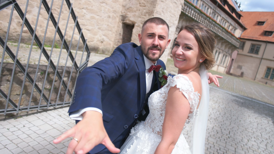 Hochzeitsfilm  Hochzeitsvideograf Videomann Kameramann Hochzeit feiern Standesamt Münster Dülmen Coesfeld Borken