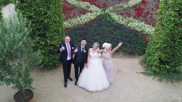 Hochzeitsvideograf Hochzeitsfilm Kameramann russische polnische Hochzeit feiern Rinteln Hameln Pyrmont Stadtoldendorf